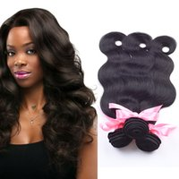 big dye - Big Sale A Malaysian body wave hair weaves Human Hair Extensions Weft Remy natural color can be dyed Malaysian Hair Bundles