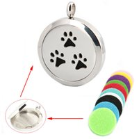 Cheap Perfume Diffuser Locket Necklace Best dog palm locket