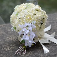 artificial water lilies - Artificial Flower Water Lily Bridal Bouquet Wedding Accessorise