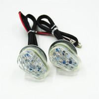 Wholesale Motorcycle LED Turn Signal Light Turning Indicators Flashers Blinker Side Lamp Fit YZF R1 R6 FZIS FZ6S FAZER XJ6 FZ8