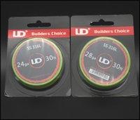 100% original UD acero inoxidable 316L Resistencia de alambre De Youde Tecnología alambre de resistencia de alta calidad libres de DHL de envío
