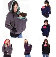 Wholesale Baby Carrier Jacket hoodie Kangaroo coat Maternity Hoodie Pullover Babywearing Kangaroo Maternity Pregnant Women winter Outerwear Coat