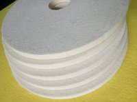 Wholesale 2016 hot sale High quality Low price Hard Glass Polishing Wool Felt Wheel Made in China