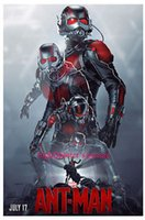 ants spray - A842 ANT MAN Marvel vinyl poster Paul Rudd Super Hero movie avengers Art Silk Poster Room Wall Decor x36inch