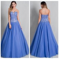 Wholesale 2016 A Line Sweetheart Quinceanera Gowns Ruched Light Blue Tulle Sleeveless Cheap Special Occasion Dresses Quinceanera Dress With Beads