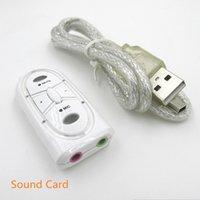 Wholesale for Steelseries siberia v2 USB Sound Card Surround sound Virtual audio interface Equalizer channels Jack mm som
