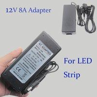 Wholesale Led Power Supply v A Ac Dc Power Supply For Cctv Christmas Light Power Supply Power Adapter UA AU Eu UK Plug Power Charger For Led DY006