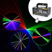 Wholesale Remote mw RED Stage Lighting Effect DMX Scanner Stage Light Laser Projector DJ Disco Party Show Lights LED Fantastic