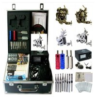 Wholesale Basekey Tattoo Kit Guns K0194 Machine With Power Supply Grips Ink Not Include