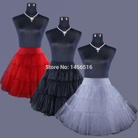 Wholesale In Stock Fast Shipping Short Petticoat Crinoline Vintage Bridal Petticoat for Wedding Dresses Underskirt Rockabilly Tutu