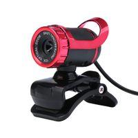 Wholesale USB Megapixel HD Camera Web Cam Degree with MIC Clip on for Desktop Skype Computer PC Laptop DHL C1947