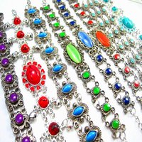 Wholesale Brand New Women s Beautiful Retro mixed styles Ladies Jewelry cuff chain Bracelets job