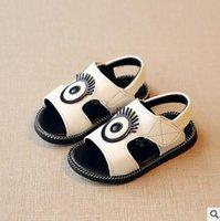 Wholesale 2016 new arriva Children shoes boy shoe girl shoes Lovely eyes magic stick non slip T T pair