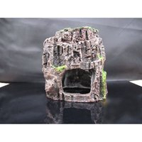 aquarium resin rock - Aquarium Fish Tank Artificial Stone Resin Ornament Cave Landscaping Decoration