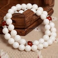 beaded string lights - Pure natural hand String Bracelet Tridacna female models red agate bracelet jewelry beads light evil transport year of fate