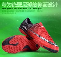 adult soccer cleats - Men Boy Kids Soccer Cleats Turf Football Soccer Shoes Hard Court Outdoor Sneakers Trainers Adults New Brand Size NX445