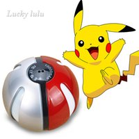 Wholesale Poke go ball power bank mAh for AR game pokeball powerbank With LED Light Portable Charge