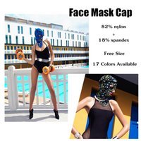 Wholesale 100pcs Face Mask Cap Guard Head Cap Sunblock Protect Uv Some Bug Biting Jellyfish for Head Protect Mask