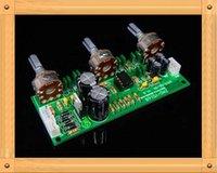 Wholesale Single Supply tone board preamp mixer board preamplifier treble bass volume control