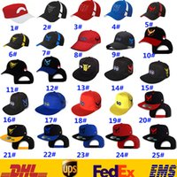 baseball action figures - Poke Go Baseball Pikachu Hat Caps Unisex Women Men Adult Cartoon Action Figure Team Valor Mystic Instinct Hip Hop Snapbacks Ball Caps HH H01