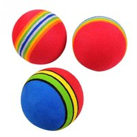 Wholesale Kids Funny Toy Balls cm Rainbow Color EVA Material Ball Foam Sponge Children s Toys