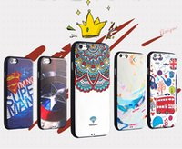 apple unions - For iphone S s Plus Cell phone Case Silicone Cover flexible glue Anaglyph coloured drawing or pattern Cartoon The Union Jack