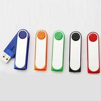 Wholesale Colorful Folding USB Flash Drives Plastic Memory Stick Portable USB Real GB GB GB GB RLDUSB