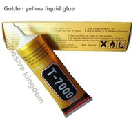 alice pack - Upgrade black golden red liquid rubber ml T7000 glue phone case alice LCD screen adhesive plastic metal electronic epoxy resin glue