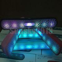 Wholesale LED Mini Speaker Pulse Bluetooth Speakers BE Stereo Subwoofers Hifi Loudspeaker FM TF USB Slot Music Player Mic for iPhone Plus S6