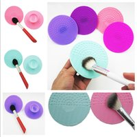 Wholesale Silicone Makeup Brush Cleaner Pad Rinsing Scrubber Board Cleaning Mat Hand Tool