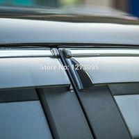 awnings for windows - 2015 Hyundai IX35 Window Visor Vent Shades Sun Rain Deflector Guard Awnings for IX35 Auto Accessories set