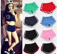 aa united states - United States AA wind Womens Shorts Casual Sports Shorts Cotton Leisure Yoga Jogging Shorts Outdoor Running Fitness Package hip Beach Pants