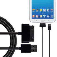 Wholesale usb data charging Cable for Samsung Galaxy Tab P3100 P3110 P5100 P5110 N8000 P1000 Tablet USB charger Cable DHL