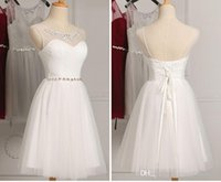 Cheap Factory Outlet Free customMint White Gray Pink Short Cheap Bridesmaid Dress Under Pleat with Beading on Waist EleganHomecoming prom short dt