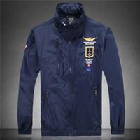 Wholesale new Jackets Hoodies jaquetas masculinas brand aeronautica militare men army jacket Jackets Outerwear Coat shark clothing K6532