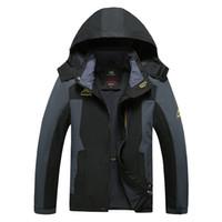 big mountain snowboard - Promotion Mountain skiing ski wear winter waterproof hiking outdoor jacket snowboard big yards jacket ski suit men snow jackets