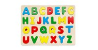 ai education - Digital puzzle English letters finger board wooden jigsaw puzzle in young children s early education educational kindergarten teaching AI