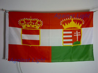 austria hungary - 1869 Austria Hungary Historical Flag x cm Polyester With Grommets