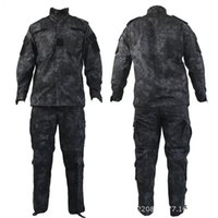 Wholesale Kryptek mandrake black typhon nomad camouflage military tactical ACU Airsoft combat uniform shirts pants