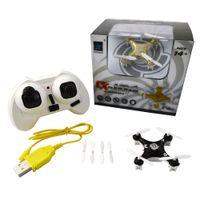 Wholesale DHL Shipping Cheerson CX A GHz CH Axis GYRO RC Quadcopter NANO Drone Headless Mode Mini RTF UFO