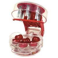 abs food grade plastic - Cherry pitter piece cherry take nuclear device food grade PP ABS cherries at once fruit vegetable tool Q