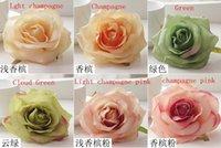 artificial rose petals bulk - The bulk of the story curling artificial rose petals wedding bouquet DIY
