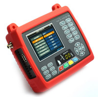 Wholesale Satlink WS DVB S FTA C KU Band Satellite Finder Meter quot LCD USB PHOTO MUSIC with Torch