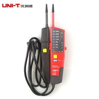 battery teste - UNI T UT18B Auto Range Voltage Teste Pen Voltmeter Continuity Tester with LED Indication RCD Test and No Battery Detector