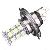 Wholesale 2016 New H4 SMD SMD LED Xenon DRL Car High Low Beam Fog Driving Headlight Bulb Light V