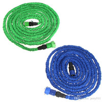 Wholesale 50FT Ultralight Pipe Flexible X Expandable Garden Magic Water Hose Faucet Connector Fast Connector