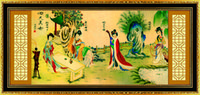ancient china beauty - Four Beauties of Ancient China Decorative Diamond Painting Cross Stitch Calligraphy D DIY Embroidery Rhinestone Wall Home Decor