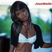 Wholesale Sex Small Girl Japanese - New arrival 168cm black sex doll with little breast ,full silicone life size black girl doll for man with small flat breast