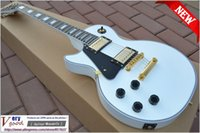 Wholesale New Custom Shop White color left hand Electric Guitar