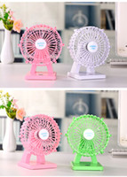 Wholesale Mini office USD wheel fan with fragrant on table for summer